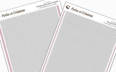 Papier graphique pour tissage