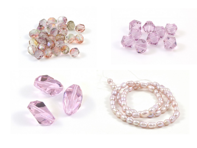 Alexandrite et perles
