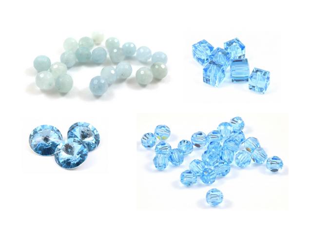 Billes aquamarine