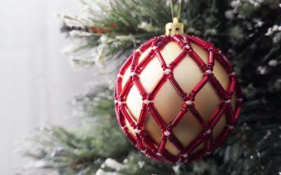 Comment recouvrir une boule de Noël