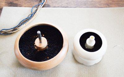 Comment utiliser un bol tournant pour tissage